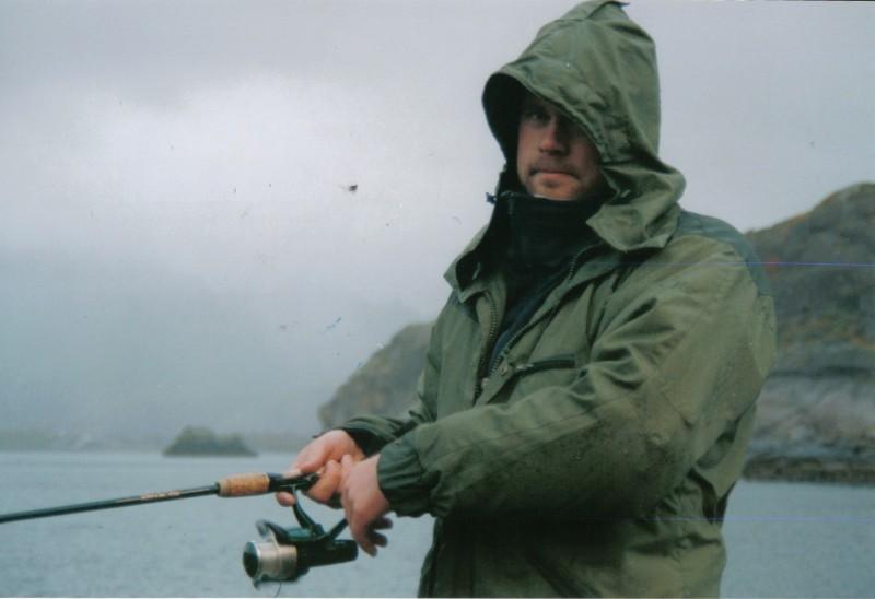 Norgesmester i Snørrjøssfisking O.J. Stokkebekk