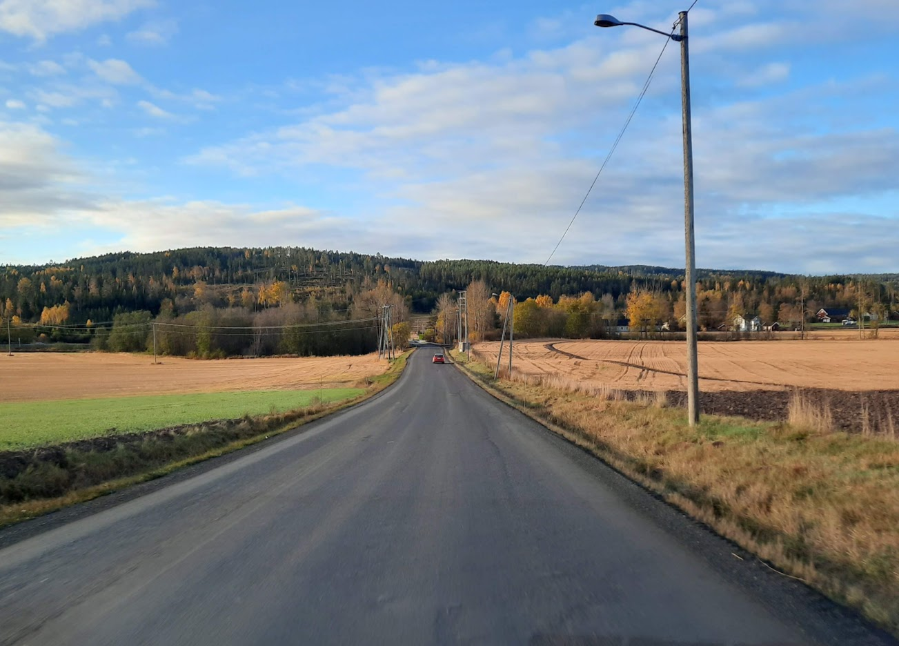 Fylkesvei 234 sker asfalteres